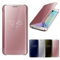 Samsung J5 J500 J5 2015 Clear View Flip Smart Cover Case Casing Miror
