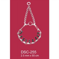 Dog Spike Collar With Rubber Top