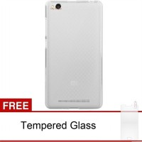 Case Xiaomi Redmi 3 Ultra Thin (Clear)  FREE Tempered Glass
