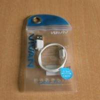 cable pro vivan 0.3m CM30 Micro USB / kabel data BB , samsung 30cm