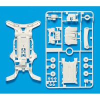 Tamiya #95251 AR Reinforced Chassis - White