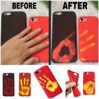 iPhone Casing Thermal Sensor Color Changing Phone Case 6 6Plus 7 7Plus