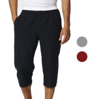 [OPPASTYLESHOP] CELANA JOGGER 3/4 PANTS SWEATPANTS HITAM TRAINING OLAHRAGA