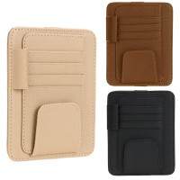 Sun Visor Organizer Multifungsi - Leather