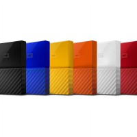 HDD External/HDD Eksternal/Portable Storage WD My Passport 2TB - ORIGINAL PRODUCT - RESMI