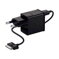 Samsung Original Travel Charger P1000 for Samsung Galaxy Tab - BLACK
