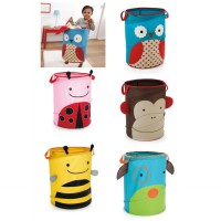 Keranjang mainan/baju kotor/laundry basket Skiphop popup hamper animal