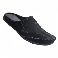 CARVIL SEPATU CASUAL DRESS MEN MALAWI BLACK