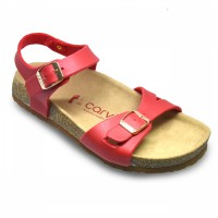 CARVIL SANDAL CASUAL LADIES JACKIE 06L RED