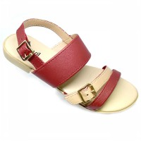 CARVIL SANDAL CASUAL LADIES JULIET L RED