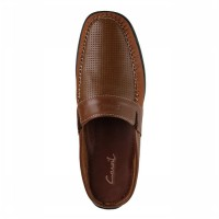CARVIL SEPATU CASUAL DRESS MEN MOSKOW CORAL BROWN