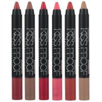 KISSPROOF KISS PROOF Soft LIPSTICK Matte Longlasting by Menow / Me Now / MN