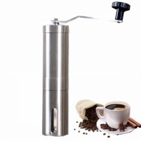 3T Stainless Steel Manual Coffee Grinder with Ceramic Center for Coffee Milling