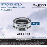 Dayman Hair Pomade - Strong Hold 45 Gr