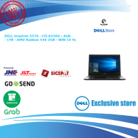 DELL Inspiron 5570 - BLACK - i5-8250U 4GB 1TB R530 2GB Windows 10 SL