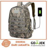 Freeknight Tas Army Military Tas Gendong Ransel Import Anti maling USB Charger Backpack TCR08