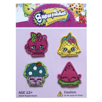 Bearhug Iron Patches For Girl ( Super Patches B )