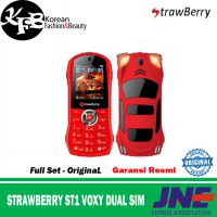 STRAWBERRY ST1 VOXY DUAL SIM - GARANSI
