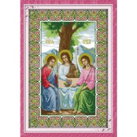 [globalbuy] Religious Belief(2) Painting Counted Cross Stitch 11CT 14CT DMC Cross Stitch S/896721