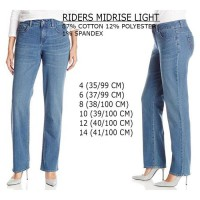 BRANDED RIDERS MIDRISE LIGHT JEANS