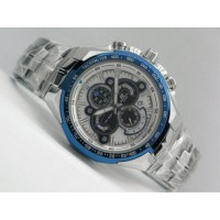 Casio Edifice EF 554 Silver Blue