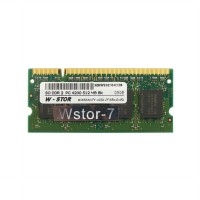 W-Stor SO DDR2 PC4200 512 MB 8ic