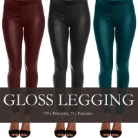 Branded! Trendy Liquid Legging_4Colors_High Quality_100% PUAS! Leggings / celana wanita / celana panjang / busana wanita / pakaian wanita