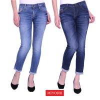 Miyoshi Jeans - Premium - 7/8 Skinny Jeans - Guarantee - MY042ABLH16 /  MY044ABLH16