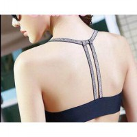 Bra Sport Gym Fitnes Olahraga Seamless Tali Metalik 8612 Tank Top Fashion Wanita Best Seller