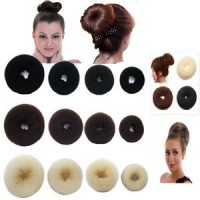 Alat Pembentuk Rambut Bundar Bulat Donat Ideal/Cute/Neat/Elegant/Most Natural And Stable Style
