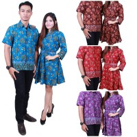 Batik Putri Ayu Solo Batik Sarimbit Couple Dress SRD503