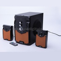 Speaker Multimedia 2.1 Advance M310BT+ RMS 50W Subwoofer System with Bluetooth Multimedia