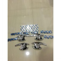 cover handle & outer chrome mobil brio/mobilio merk J/S