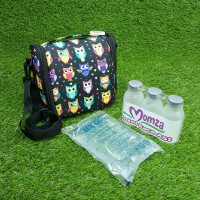 Cooler Bag Momza Black Owl