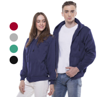 CARTEXBLANCHE JAKET UNISEX BASIC HOODIE/ ZIPPER HOODIE - AVAILABLE IN 15 COLORS