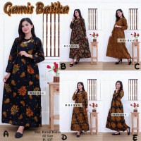 Gamis Batik Maxi Dress Busui