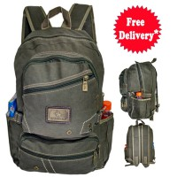 Polo Power Ransel Backkpack Military Trendy Army