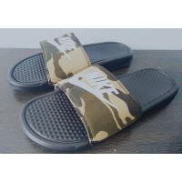 Sandal Nike Benassi Army Original Made in Indonesia