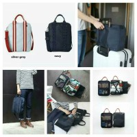 Compact trunk travel shoulder & Handcarry bag organizer / Tas Koper saat travelling