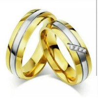 CINCIN COUPLE - GOLD LIST DIAMOND