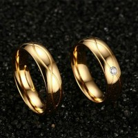 CINCIN COUPLE - GOLD INFINITE RING