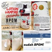 Lotion Vampire 500 ml BPOM