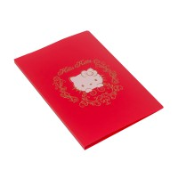 Bantex Display Book Hello Kitty 40 Sheets Folio Red #3185A09HK