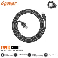 dpower Nylon Braided Charging Cable Type-C 3ft/0.9m