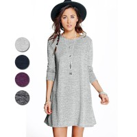 Dress Branded Wanita - Knit Dress - Tersedia 4 Warna - Ready Size XXS sampai XXL - High Quality - Stok Terbatas !