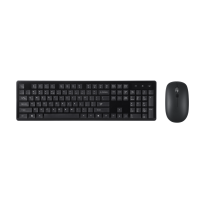 MICROPACK KEYBOARD MOUSE WIRELESS ELEGANT COMBO BLACK (KM-236W.BLK)