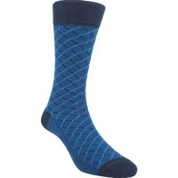 Kaos Kaki Marel Socks Life Style Men Crossline Navy/Black