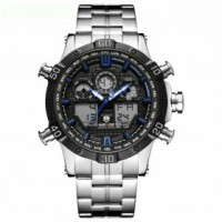 Weide Jam Tangan Sporty Stainless Steel - WH6901