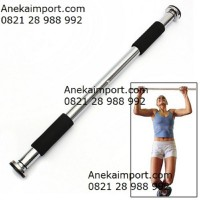 Anekaimportdotcom Door Chinning Bar For Pull Up Bar / iRon Gym / Fitness / Six Pack