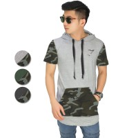 (BRANDED FO)The-Fahrenheit Simmon Army Hoodie T-shirt for Men